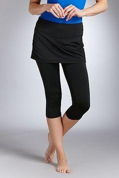 2cc11af1cd5 Skirted Swim Legging  Sun Protective Clothing - Coolibar Modest Workout  Clothes