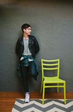 """Kevin McHale Talks Glee & Grief #refinery29 http://www.refinery29.com/2013/11/57287/kevin-mchale-house#slide-5 You have great style. Do you feel like it's something you've developed over time or was it more innate? """"It was definitely something I developed over time. I developed a real interest in fashion, and I have to credit Lou, who was our original costume designer on Glee. Every day she showed up and just looked incredible. I would talk to her about being so small — nothi..."""