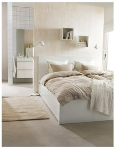 Ikea Malm bed with storage