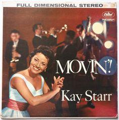 "Kay Starr, ""Movin'!"" (1959)."
