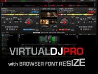 VirtualDJ 7 (2 Decks) (Browser Resize)