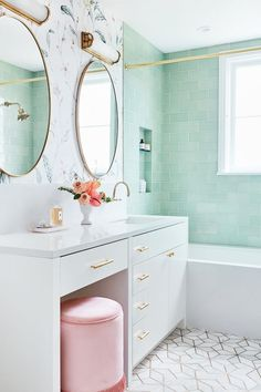 Home Interior Living Room .Home Interior Living Room Bad Inspiration, Bathroom Inspiration, Bathroom Styling, Bathroom Interior Design, Bathroom Designs, Bad Styling, Palm Springs Style, Fireclay Tile, Dream Rooms