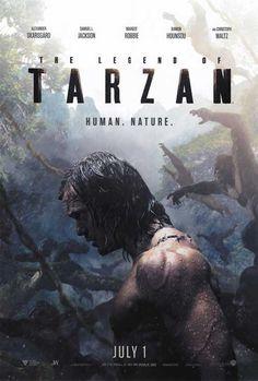 The Legend of Tarzan (2016) 27x40 Movie Poster