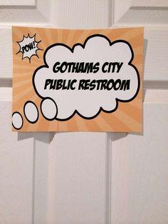 Batman Birthday Party Ideas | Photo 1 of 26 | Catch My Party