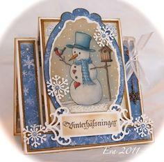 Pysseltagen: Vintage Jul med Maja Design!
