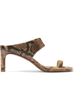 Naked Sandal Summer 2019 Shoe Trend - Best Sandals for Summer 2019 Toe Ring Sandals, Mid Heel Sandals, Red Sandals, Lace Up Sandals, Slingback Sandal, Leather Sandals, Heels, Spring Sandals, Summer Shoes
