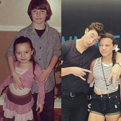 Aaliyah in the second picture...why? she's with Shawn?