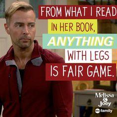 "S4 Ep15 ""The Book Club"" - LOL, Joe! #MelissaAndJoey"