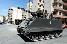 M113A2 w/ ZU-23-2 23 mm Anti-Aircraft Gun (Lebanon)