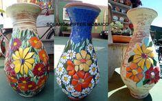 vasos em mosaico                                                                                                                                                                                 Mais