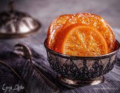 Карамелизованные апельсины. Ингредиенты: апельсины, сахар, шоколад черный горький