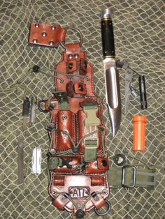 Tactical Leather - http://www.survivalacademy.co/