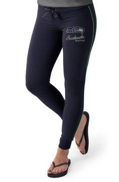 Women's '47 Brand Black/Pink Seattle Seahawks Powerstretch Pants ...
