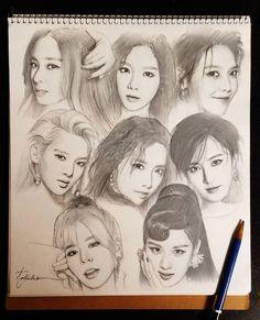 1,722 Followers, 26 Following, 218 Posts - See Instagram photos and videos from tokiko (@tkk_i) Girls Generation, Girls' Generation Taeyeon, Sooyoung, Korean Girl Band, Yuri, Sunny Snsd, Kpop Fanart, Korean Artist, Girl Bands