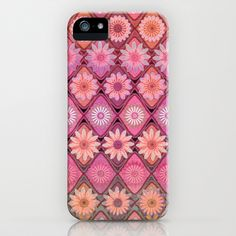 Daisy Pinks iPhone & iPod Case by micklyn. How beautiful is this?!