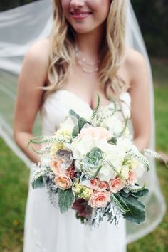 Bridal pose. Flowers are stunning.