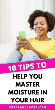 Dry hair treatment is the only real thing you can do if you are suffering from thirsy hair. These 10 tips can help you keep your hair properly moisturised. Natural Hair Growth Tips, Natural Hair Regimen, Natural Hair Journey, Natural Hair Styles, Dry Hair Treatment, Hair Treatments, Low Porosity Hair Products, Hair Hacks