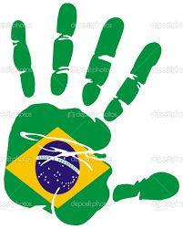 Resultado de imagem para bandeira do brasil estilizada
