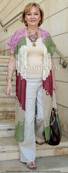 Irish crochet &: CROCHET CARDIGAN