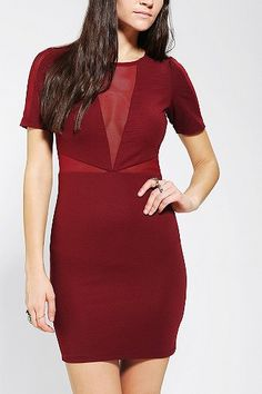 Lucca Couture Bodycon Cutout Dress