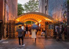 This Pavilion at the NYC Ideas City Festival is Sustainably Designed #architecture trendhunter.com