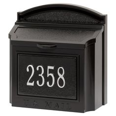 Whitehall Products Wall Mailbox Package - 16284