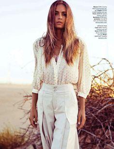 kendal schuler by steven chee for cosmopolitan australia june 2013 #fashion #style #white