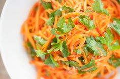 Hungry Ghost Moroccan Carrot Salad – Recipe