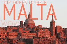 Top 10 Things to do in Malta