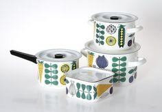 Vegeta by Esteri Tomula for Finel Vintage Enamelware, Mid Century Design, Scandinavian Style, Vintage Kitchen, Home Deco, Finland, Vintage Designs, Hygge, Sweet Home