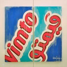 """""""Vimto"""", Lam Art Gallery in Riyadh"""