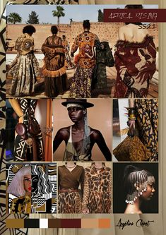 AFRICA RISING SPRING/SUMMER 2021 - Fashion & Colors Trend by Angélina Cléret