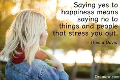 """Say, """"YES!"""" to happiness.  Click on the pin to join #DrLauraFreeFamily"""