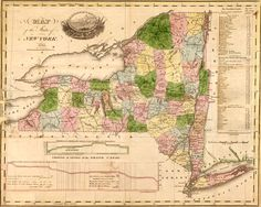 New York State 1833 by Andrus and Judd Historic Map. A wide and growing selection of inexpensive reprints of rare Historic Maps are available from Hearthstone Legacy Publications at: http://www.hearthstonelegacy.com/Historic-Map-Reprints.htm