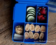 This Lunch Rox website...healthy lunch ideas for kids