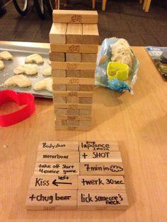 Best way to play Jenga...