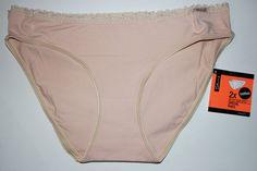 Skiny Damen Panty Doppelpack Unterwäsche Pant Slip weiche Gr. 42 skin NEU