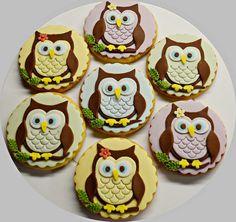 Owl cookies - Cake by My sweet hobby - Albena Nacheva