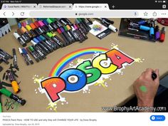 Posca Art, Pen Art, Paint Pens, Learn To Paint, Acrylic Art, Starter Kit, Being Used, You Changed, Stencils