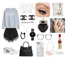 """""""Fresh style"""" by maria-del-cielo-garcia-portillo on Polyvore featuring beauty, MANGO, adidas, Forever 21, Wet Seal, Nixon, Prada, LORAC, Aéropostale and Uncommon"""