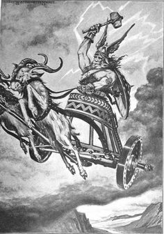 THOR- 1 of my fave mythical warriors. I know he's a god. I hope that still counts.