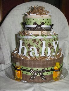 Probably still my favorite diaper cake I've done!