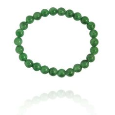 """8mm Round Aventurine Bead Bracelet, 8"""" Amazon Curated Collection. Save 50 Off!. $10.00. Made in China"""
