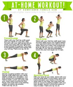 at home workout pt 1