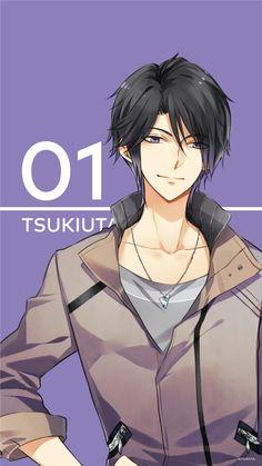 TsukiUta Smartphone wallpaper: Hajime Mutsuki
