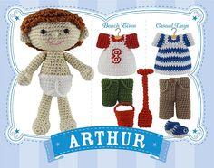 Arthur_Master by Little Yarns, via Flickr.