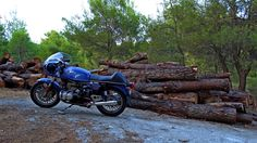 BMW R100 cafe racer Greece, Evia island- www.caferacers.gr