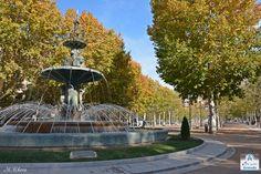 Fuente de las Granadas (Paseo del Salón)