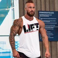 BILLYHERBERT Mens Bodybuilding Athletic Gym Workout Stringer Y-Back Tank Top