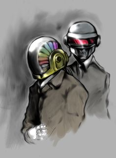 Daft_Punk_for_the_brother_by_SpoonyBardess